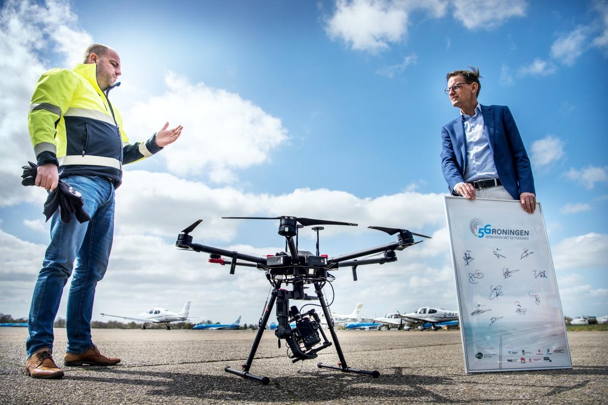 5G drones in de zorg