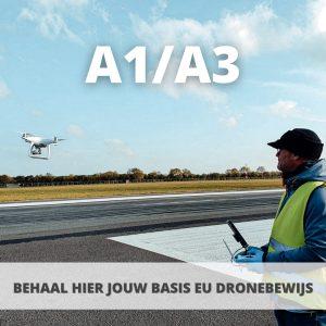 A1 A3 drone opleiding